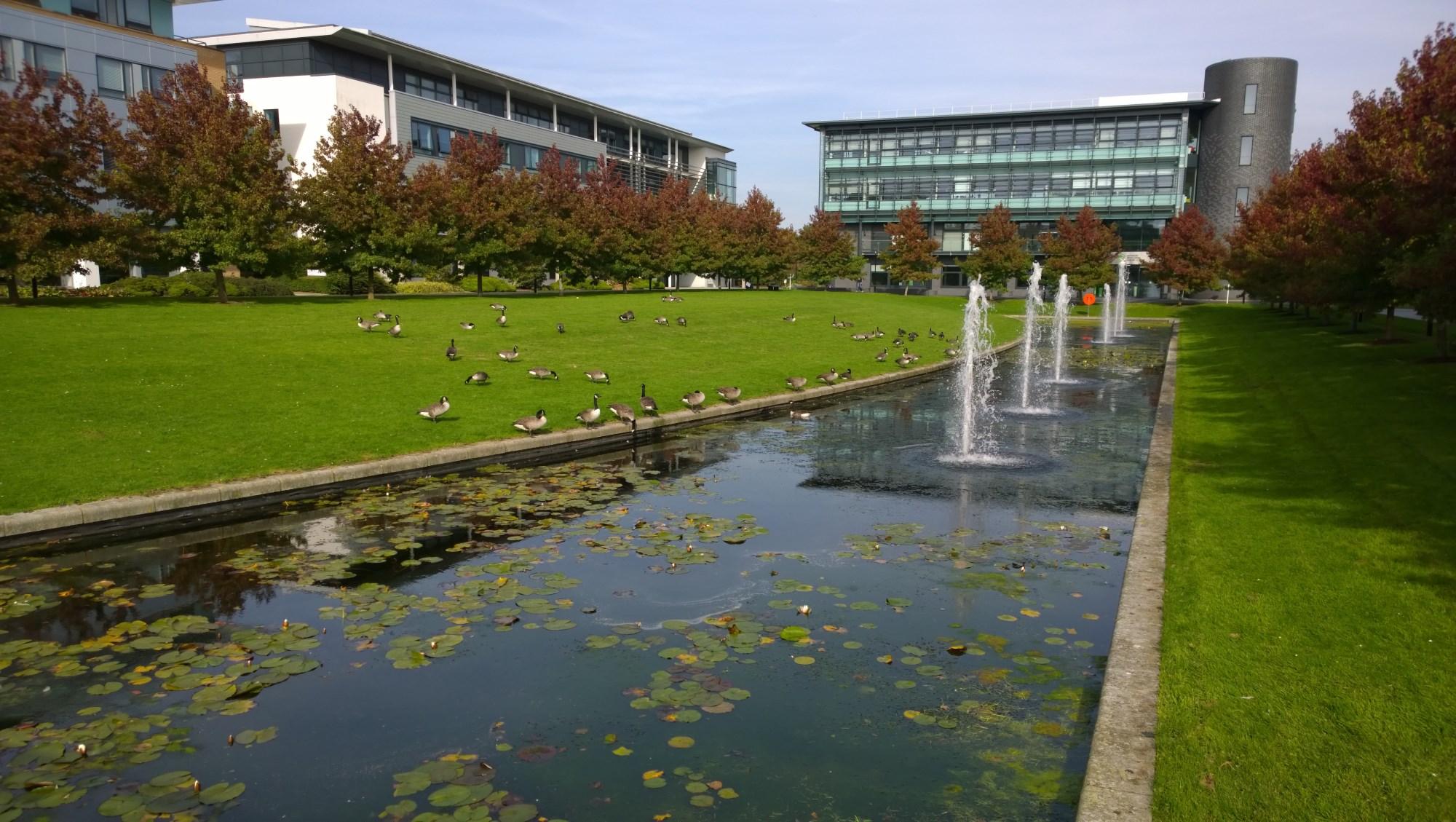 Zeeman Building, University of Warwick