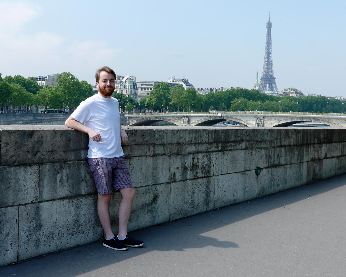 David in Paris